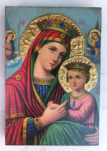 Icon - Mary & Jesus 19B