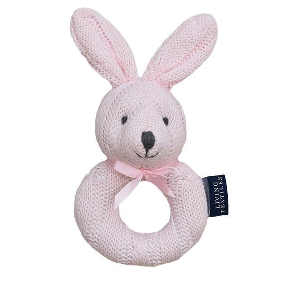 Cable Knit Rattle - Bunny