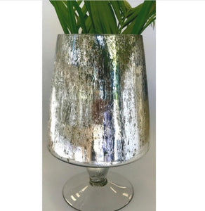 Mercury Glass Vase Candleholder