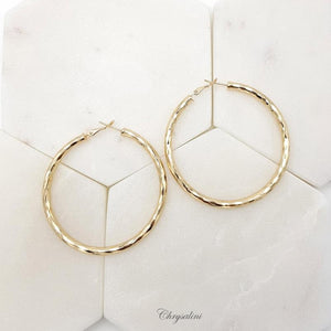 Gold Hoops 6mm