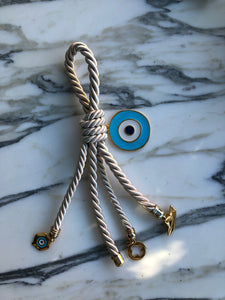 Eye Protect Enamel Home Charm
