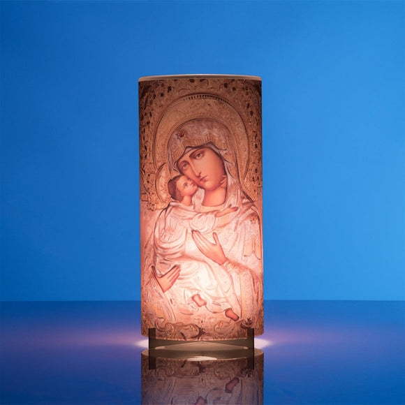 Mother Of God Candle Lantern