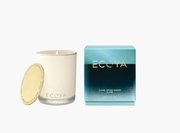 Ecoya Clove Spiced Ginger & Lime Candle