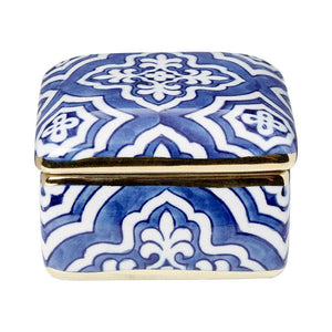 Tangier Square Box With Lid