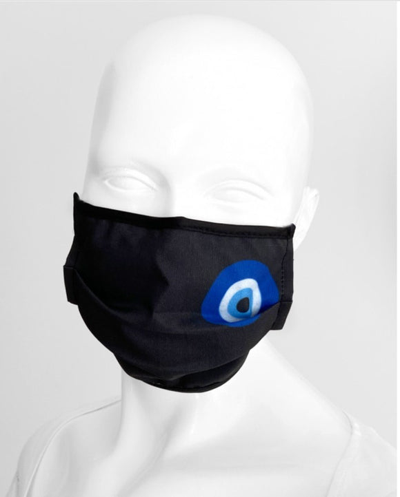 Evil Eye Mask Black