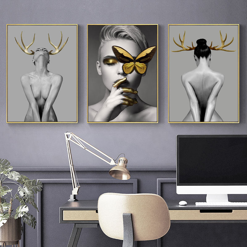 Nordic Temptress Canvas Set