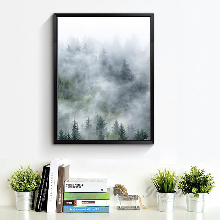 Misty Forest Canvas Set