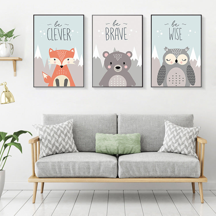 Wise Animals Canvas Collection