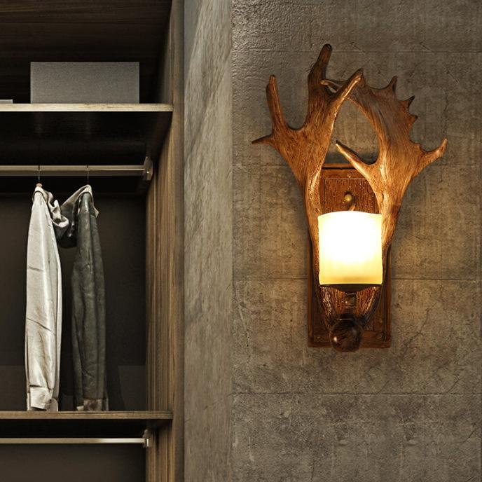 Antler Wall Lamp
