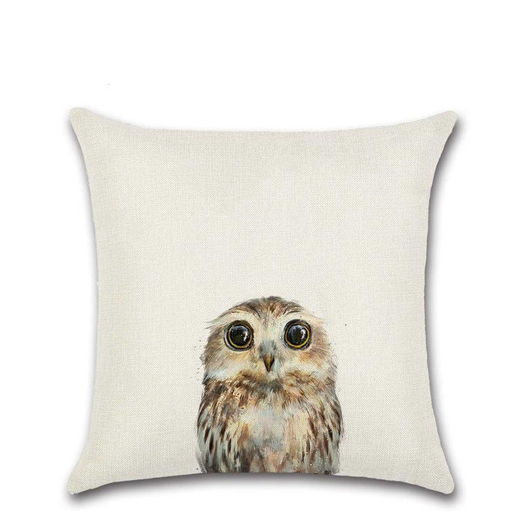 Baby Animal Pillow Cover Collection