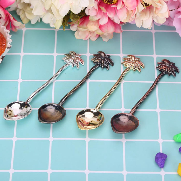 Palm Tree Teaspoon Set