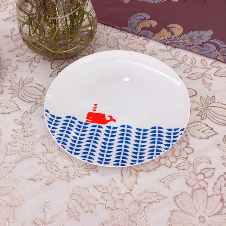 Animal Horizon Porcelain Plates