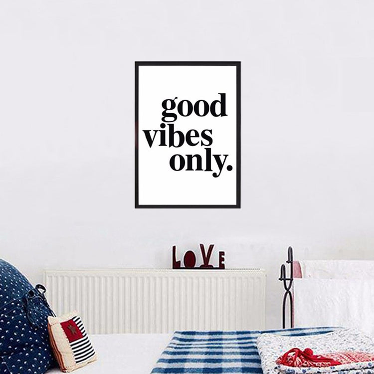 Good Vibes Only Canvas