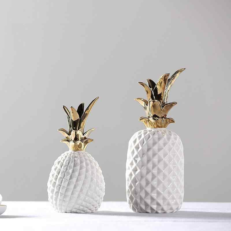 Gold Crown Pineapple Ornament