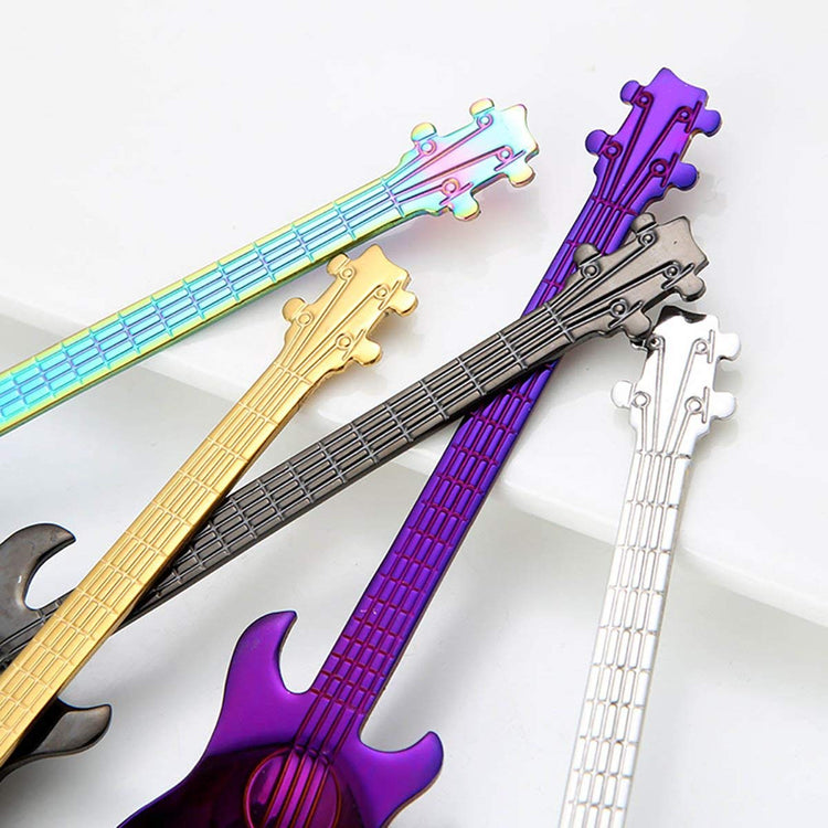 Guitar Teaspoon Set