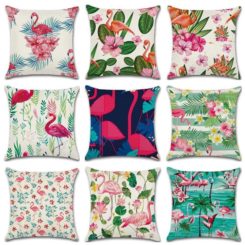 Pink Flamingo Pillow Cover Collection