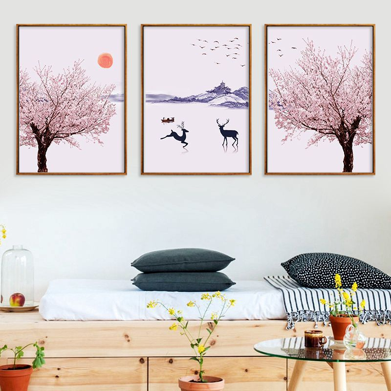 Sakura Winter Canvas Set