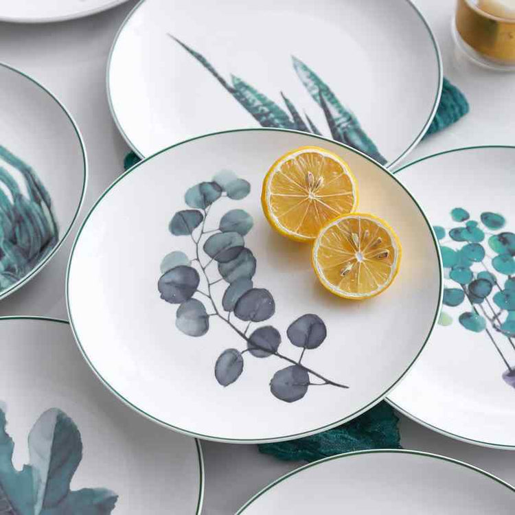 The Botanist Porcelain Side Plates