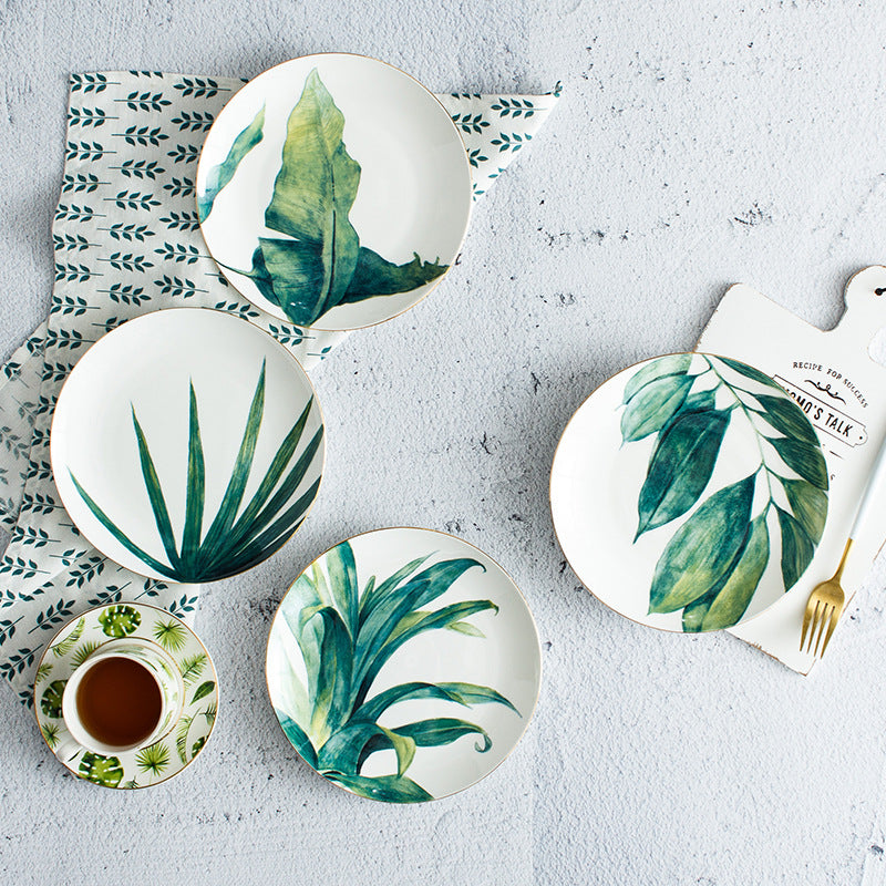 The Big Botanist Porcelain Plates