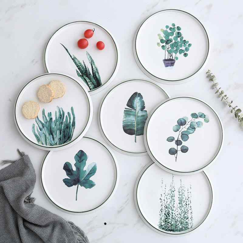 The Botanist Porcelain Plates