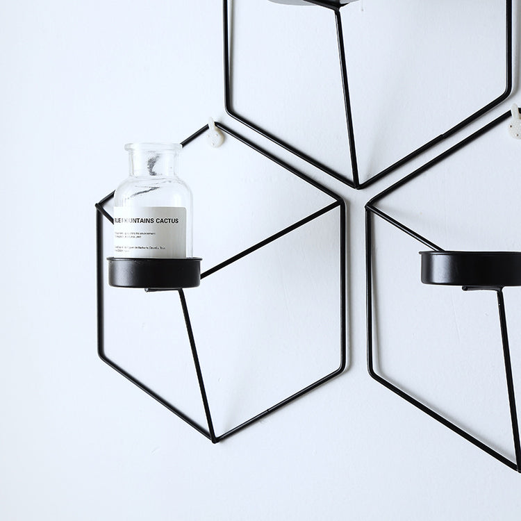 Copenhagen Wire Wall Candle Holder