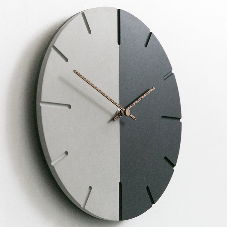 Contrast Wall Clock