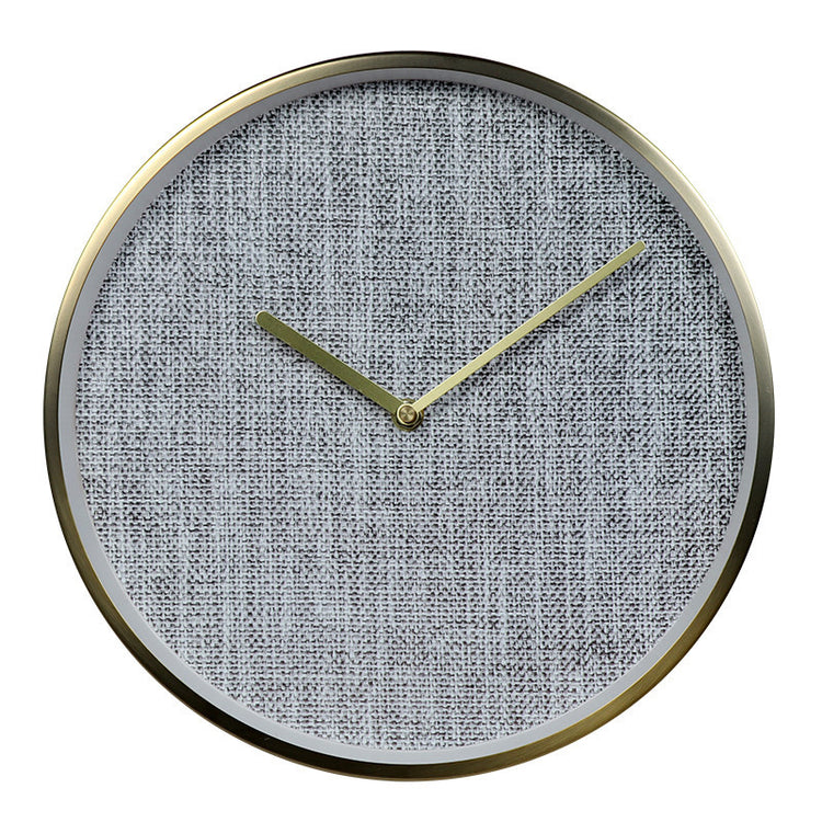 Kangas Fabric Wall Clock