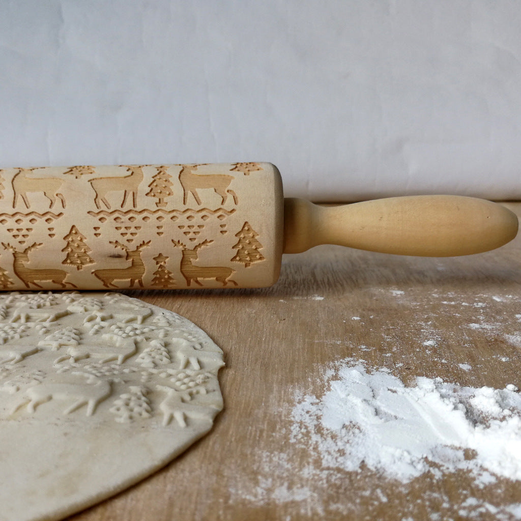 Christmas Spirit Rolling Pin