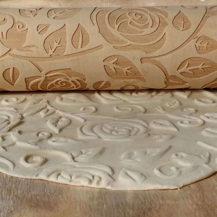Roses Rolling Pin