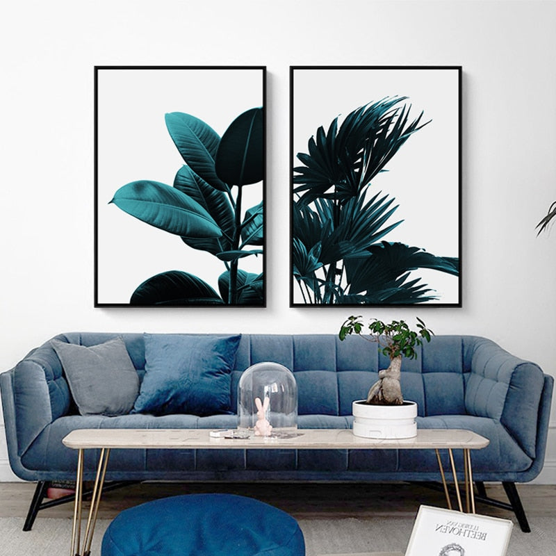 Deep Tropics Canvas Set
