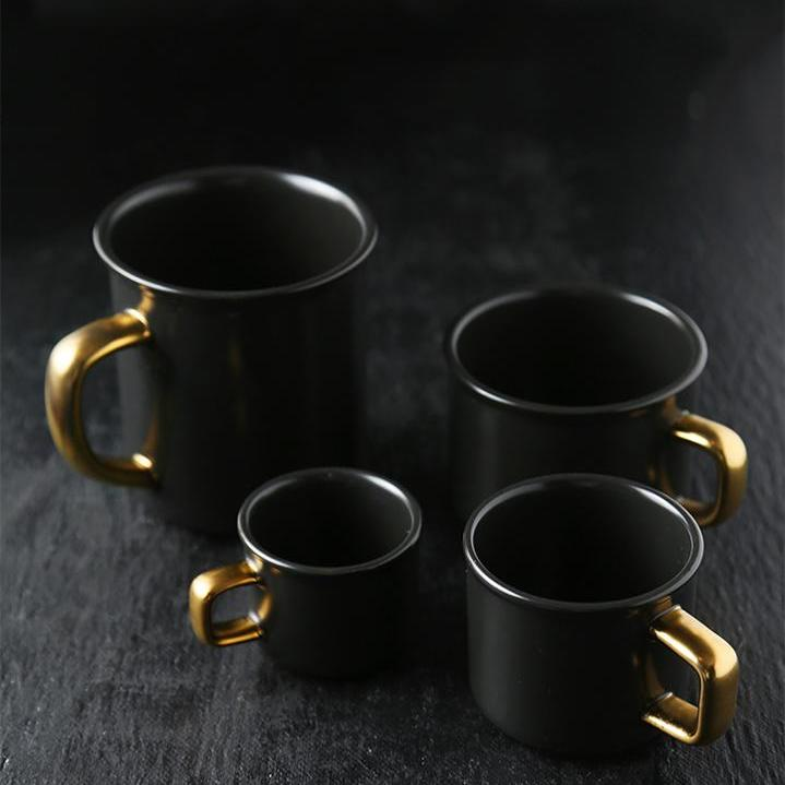Nero D'Oro Coffee Mugs