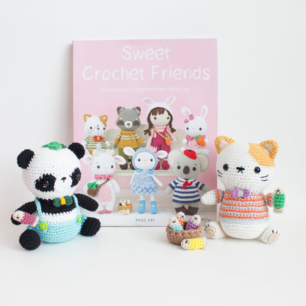 Sweet Crochet Friends Book Review