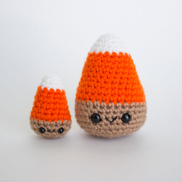 READY TO SHIP! Crochet Amigurumi Harvest Candy Corn- Set of 2
