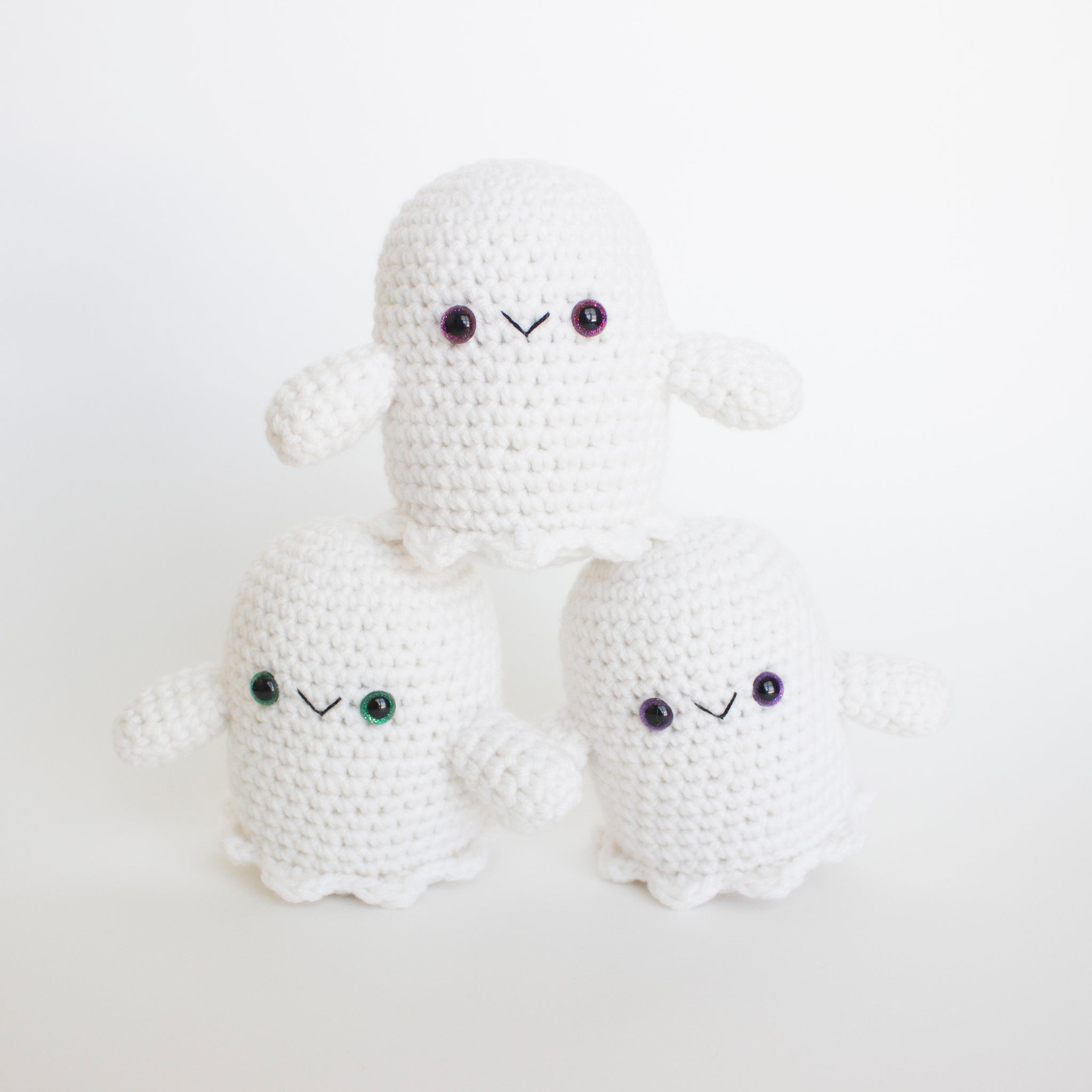 Tutorial Ghost Amigurumi Halloween in English - YouTube | 2048x2048