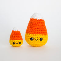 Crochet Pattern: Candy Corn, PDF Amigurumi Pattern
