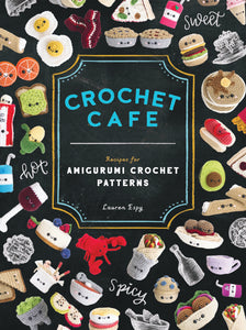 GIFT BUNDLE- Signed Copy of Crochet Cafe PLUS a Stitch Enamel Pin and Sticker