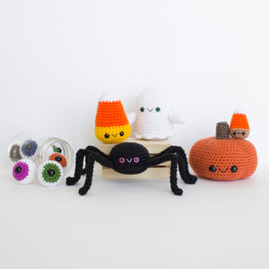 Crochet Pattern: Halloween Pattern Bundle, PDF Amigurumi Pattern