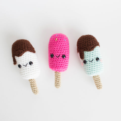 Crochet Amigurumi Popsicle- READY TO SHIP