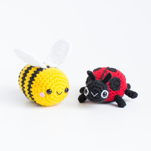 Crochet Pattern Spring Critters Bumblebee And Lady Bug Pdf