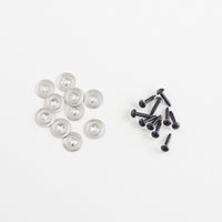 6mm Clear Plastic Safety Eyes- Pack of 5 Pairs