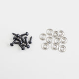 9mm Clear Plastic Safety Eyes- Pack of 5 Pairs