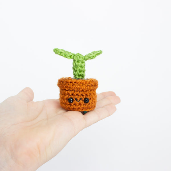 Crochet Amigurumi Mini Sprout- READY TO SHIP