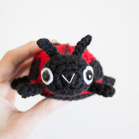 Crochet Pattern: Spring Critters-Bumblebee and Lady Bug, PDF Amigurumi Pattern