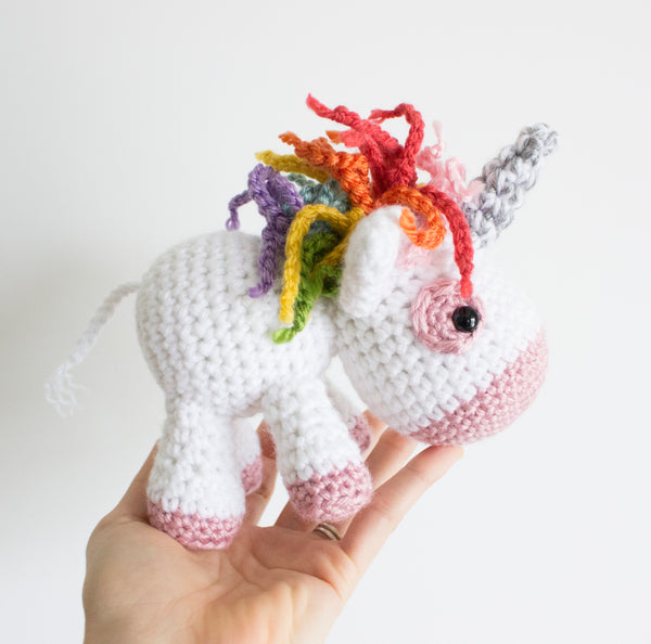 Crochet Pattern: Unicorn, PDF Amigurumi Pattern