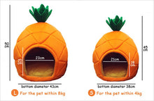 Load image into Gallery viewer, Pineapple Pet Bed