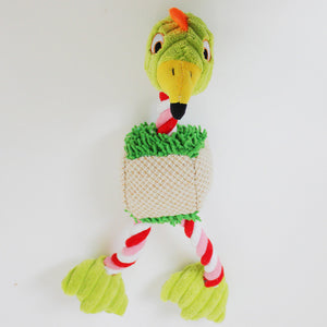 Plush Bird Rope Toy