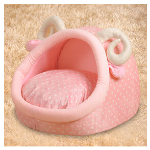 Pink Goat Dome Bed