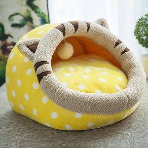 Yellow Tiger Dome Bed