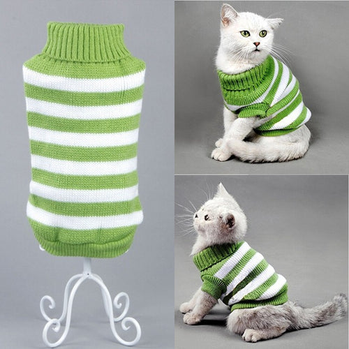 Green Stripe Sweater