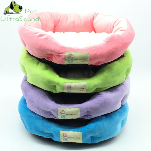 Pastel Plush Pillow Bed